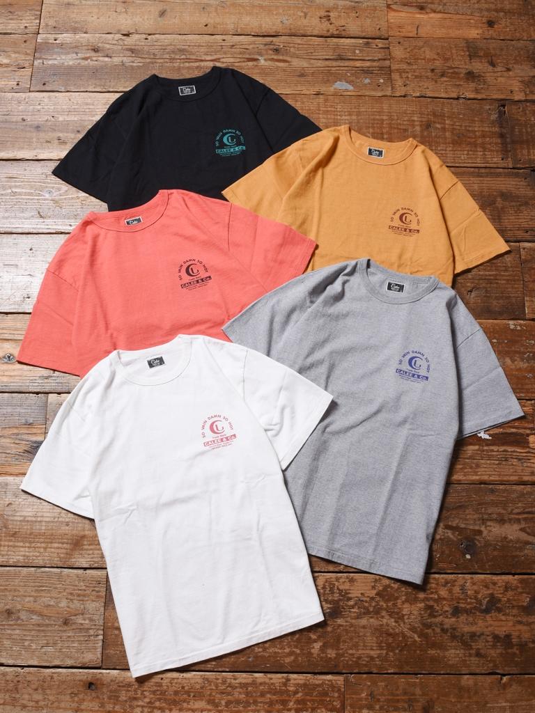 CALEE   「BINDER NECK VINTAGE LOGO T-SHIRT 」    プリントティーシャツ