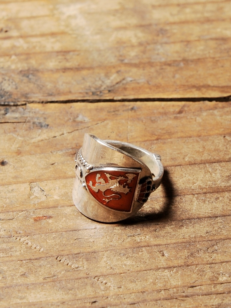 CALEE  「SPOON RING 〈SILVER 925〉」 SILVER925製 スプーンリング