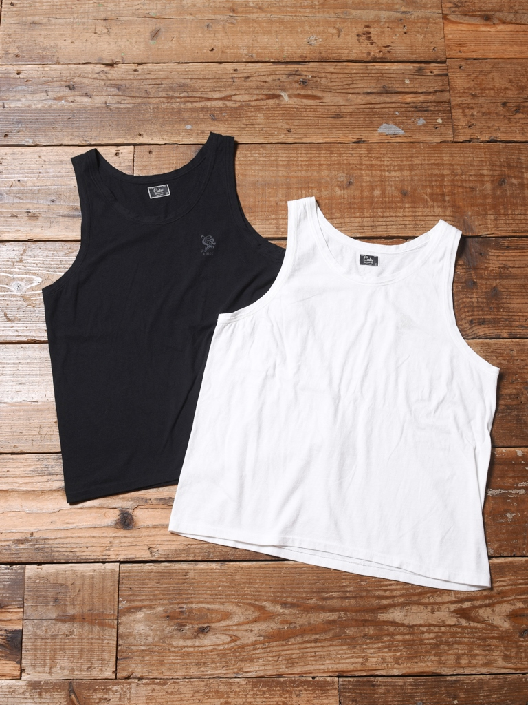 CALEE  「VINTAGE REPRODUCT KNITTED FABRIC TANK TOP」    タンクトップ