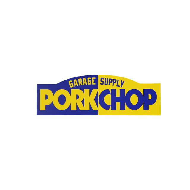 PORKCHOP GARAGE SUPPLY   「PORKCHOP BLOCK STICKER 」  ステッカー