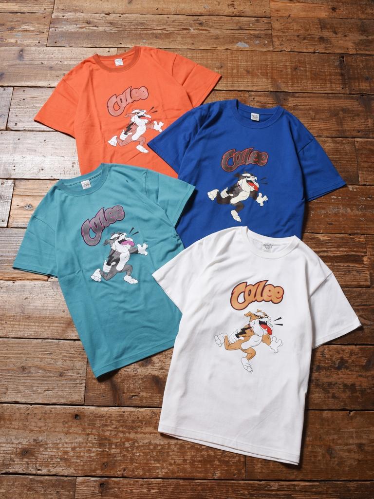 CALEE  「COTTON BULLDOG T-SHIRT 」    プリントティーシャツ