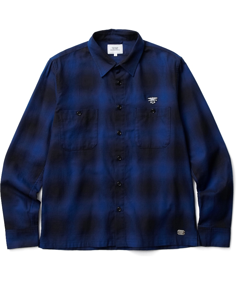 CRIMIE 「CHECK WORK SHIRT」 チェックシャツ