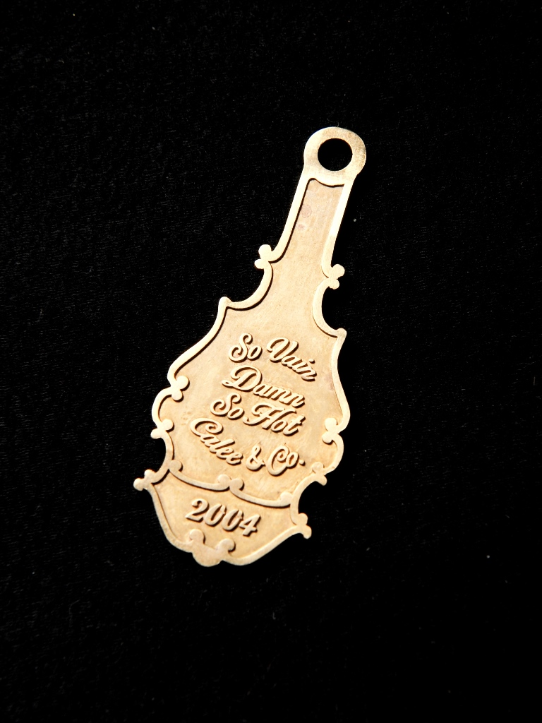 CALEE  「BRASS KEY HOLDER」 BRASS製 キーホルダー