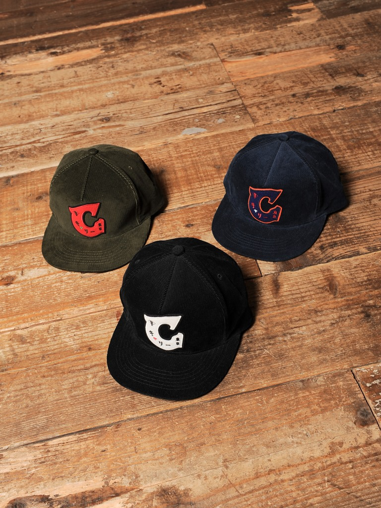 CALEE  「CORDUROY WAPPEN CAP」  コーデュロイ ワッペンキャップ