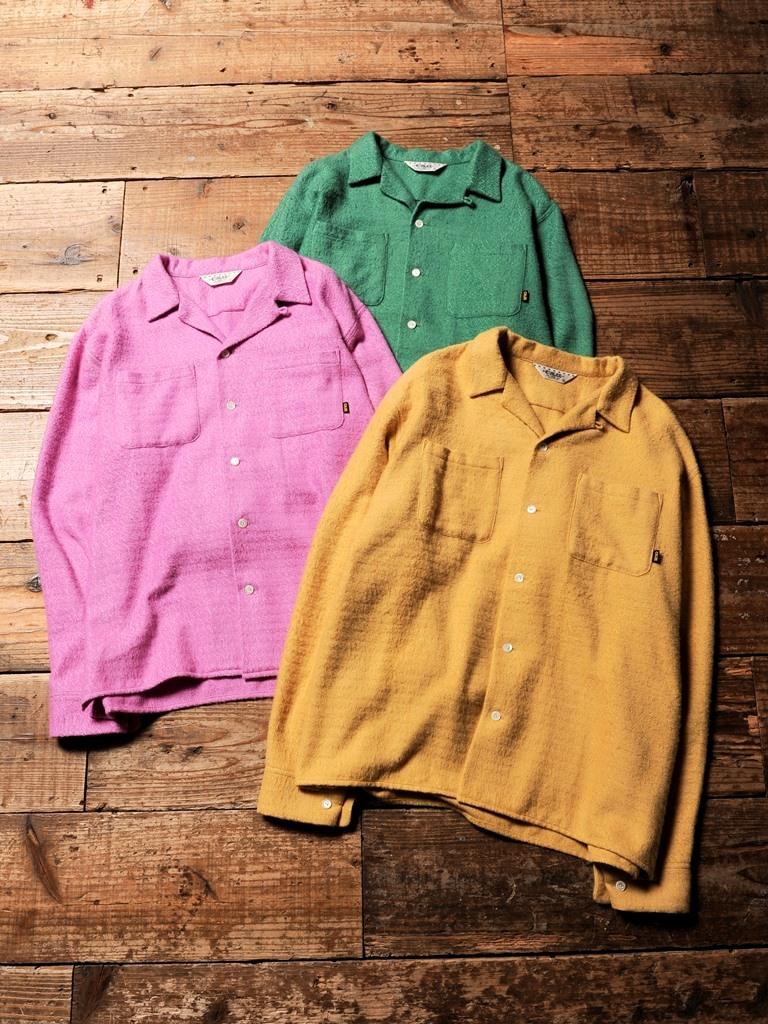 CALEE  「DOBBY CHECK L/S SHIRT  」    ドビーチェックシャツ