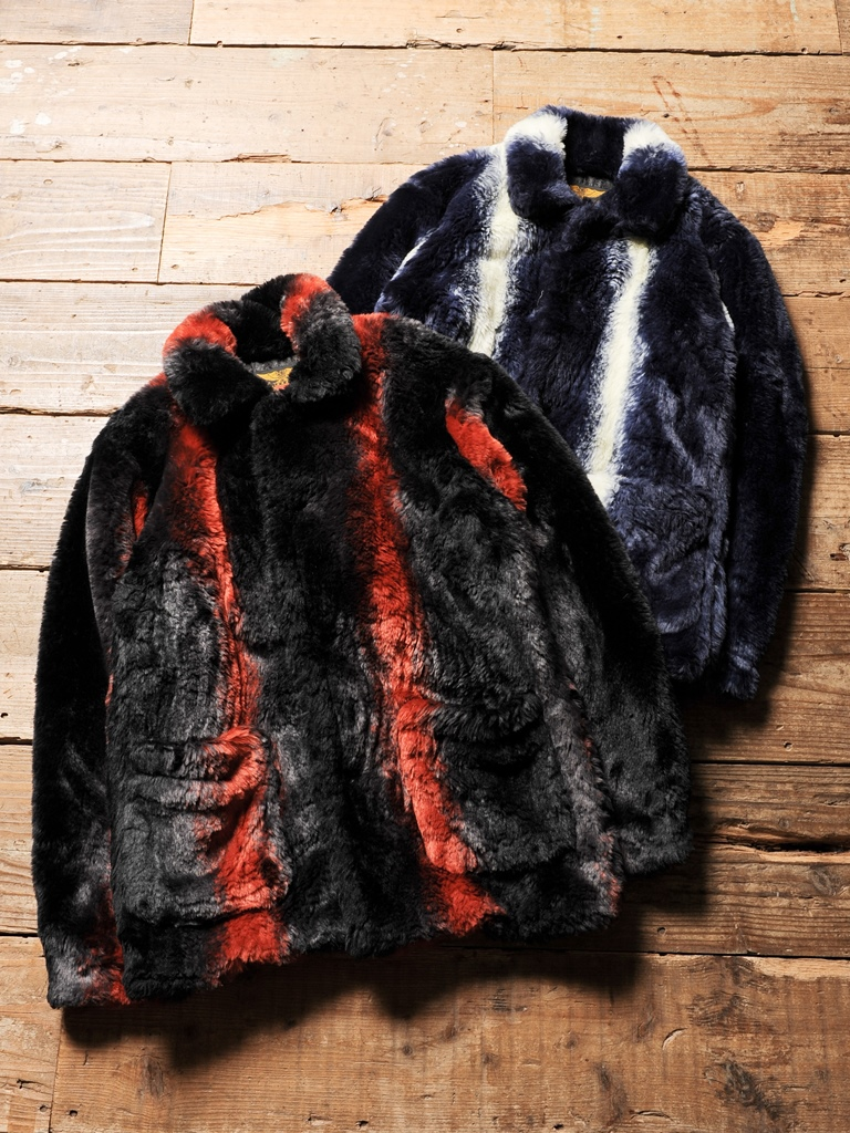 CALEE   「FAKE FUR SINGLE P COAT 」   シングルピーコート
