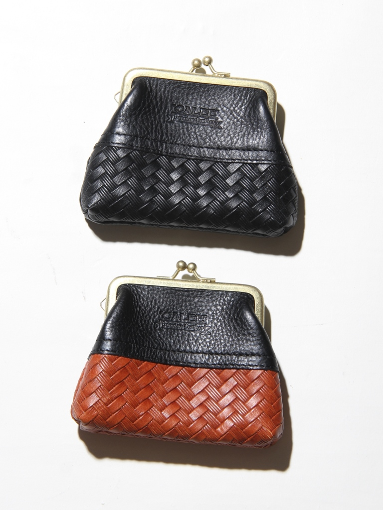 CALEE  「 EMBOSSING LEATHER COINCASE 」  レザーコインケース