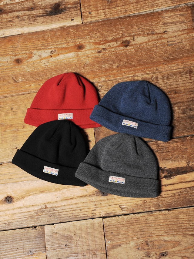 CALEE   「 KNIT CAP 」 ニットキャップ