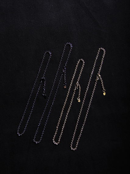 CALEE  「NECKLACE CHAIN 〈BRASS〉」  真鍮製ネックレスチェーン