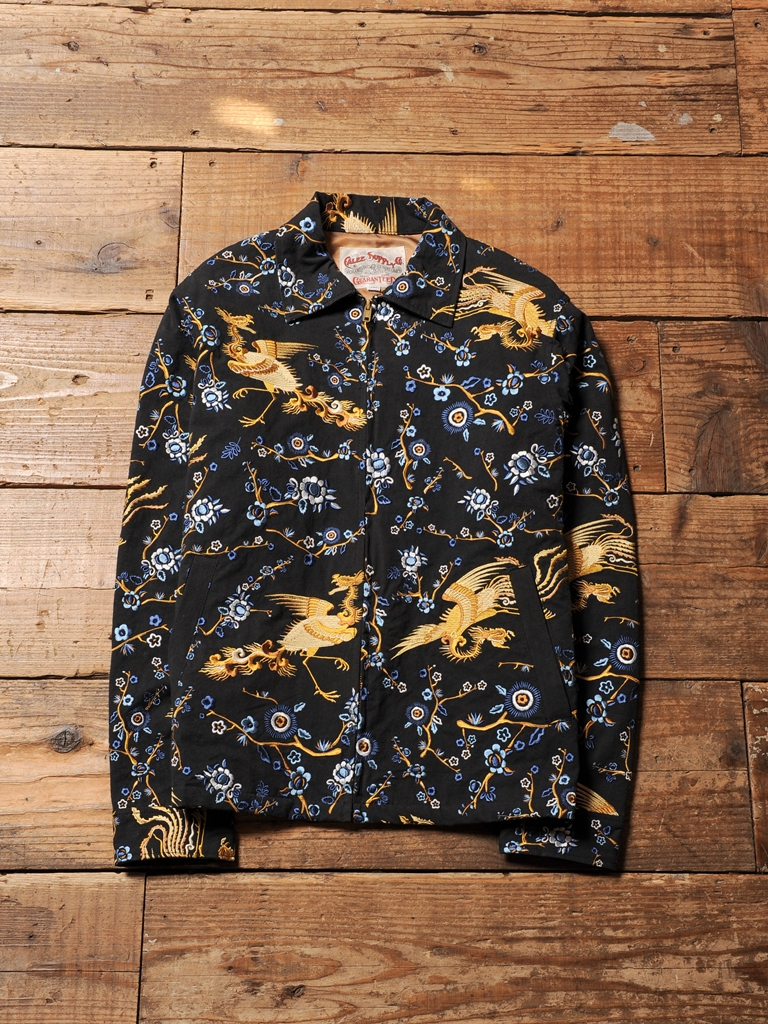 CALEE  「ALLOVER EMBROIDERY PATTERN  JACKET」  スーベニアジャケット