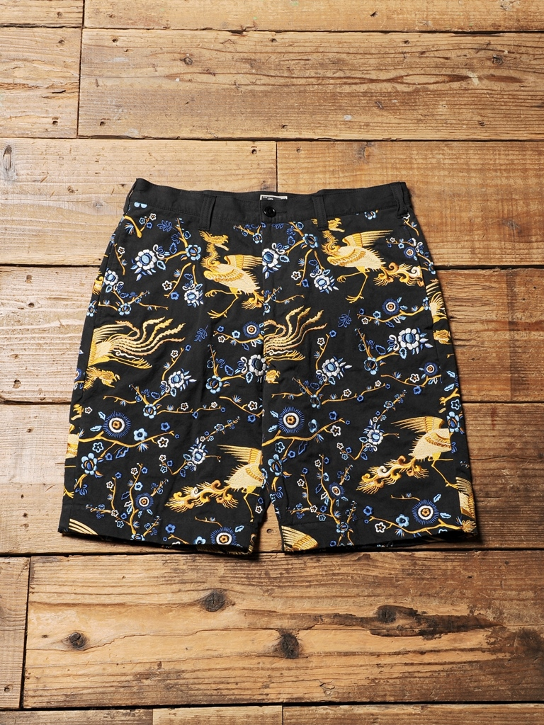 CALEE  「ALLOVER EMBROIDERY SHORT PANTS」  スーベニアショートパンツ