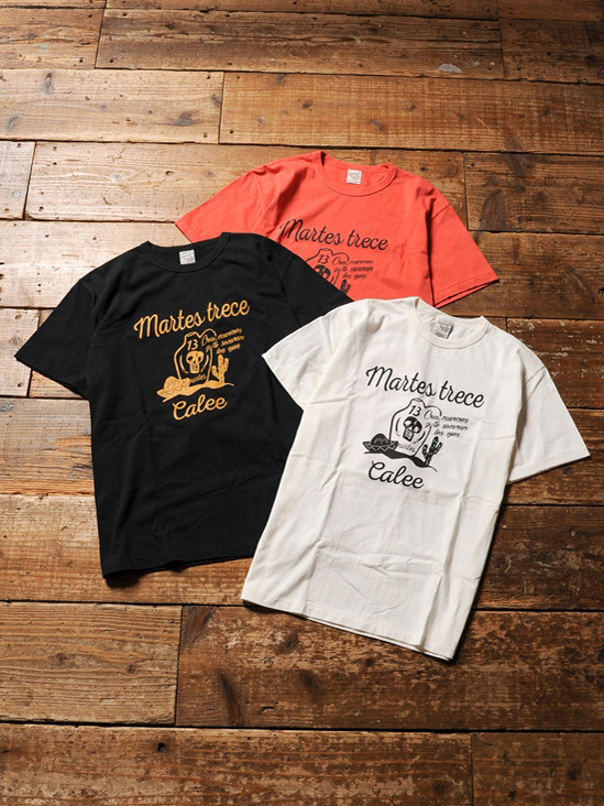 CALEE  「WASHED MEXICAN T-SHIRT 」 プリントティーシャツ