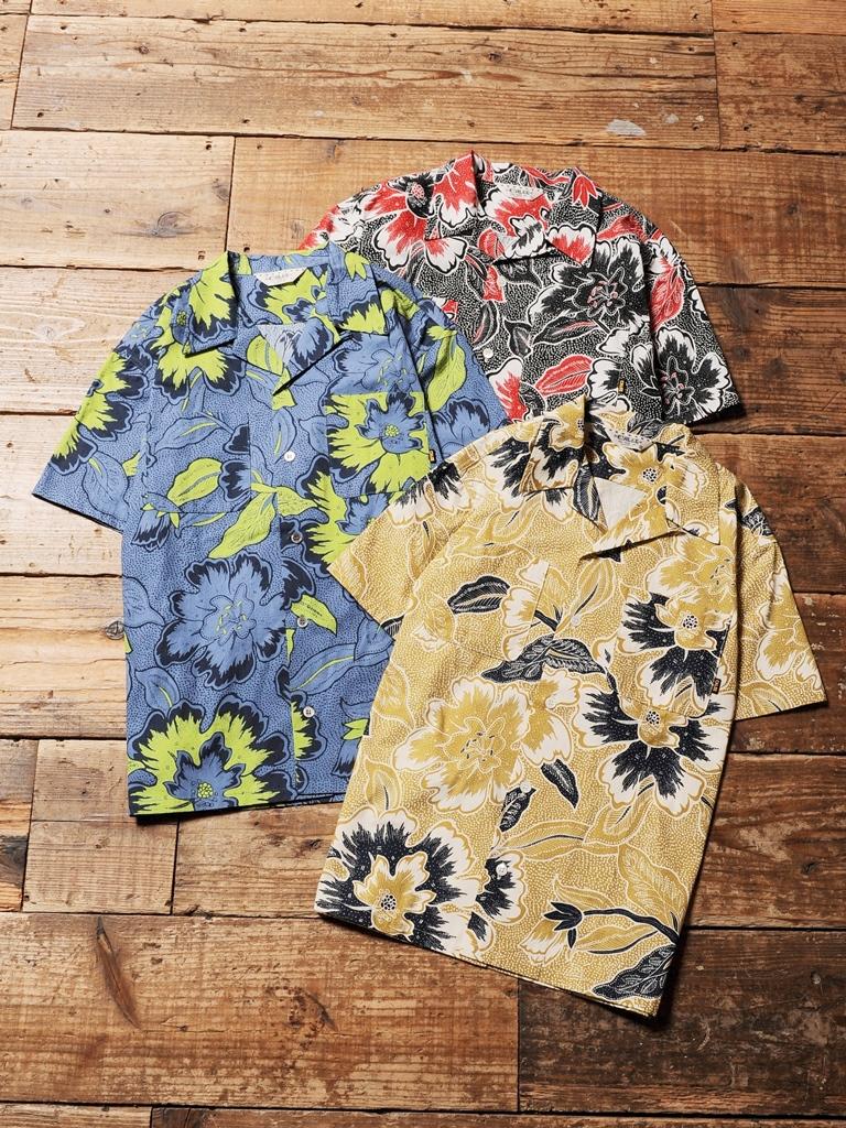 CALEE  「HAWAIIAN PATTERN S/S SHIRT  」  アロハシャツ