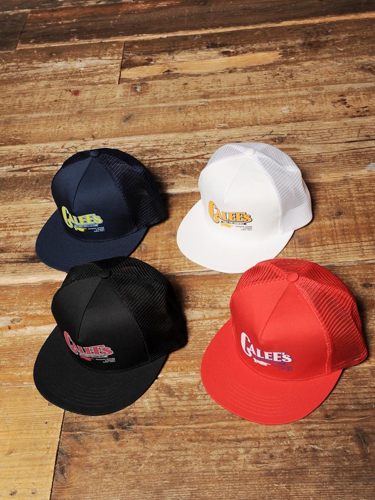 CALEE  「PRINT MESH CAP」 プリントメッシュキャップ