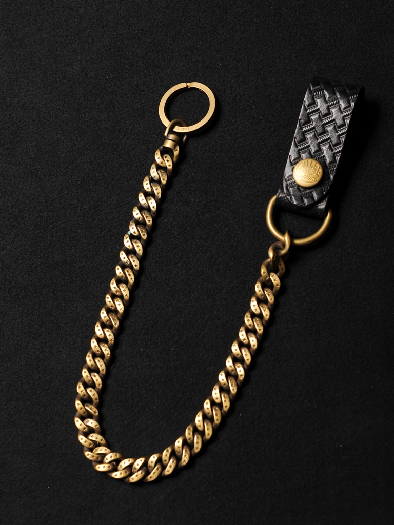 CALEE  「EMBOSSING LEATHER WALLET CHAIN 」 レザーウォレットチェーン