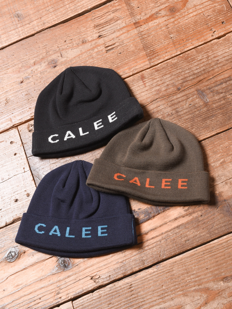 CALEE  「JACQUARD KNIT CAP」 ニットキャップ