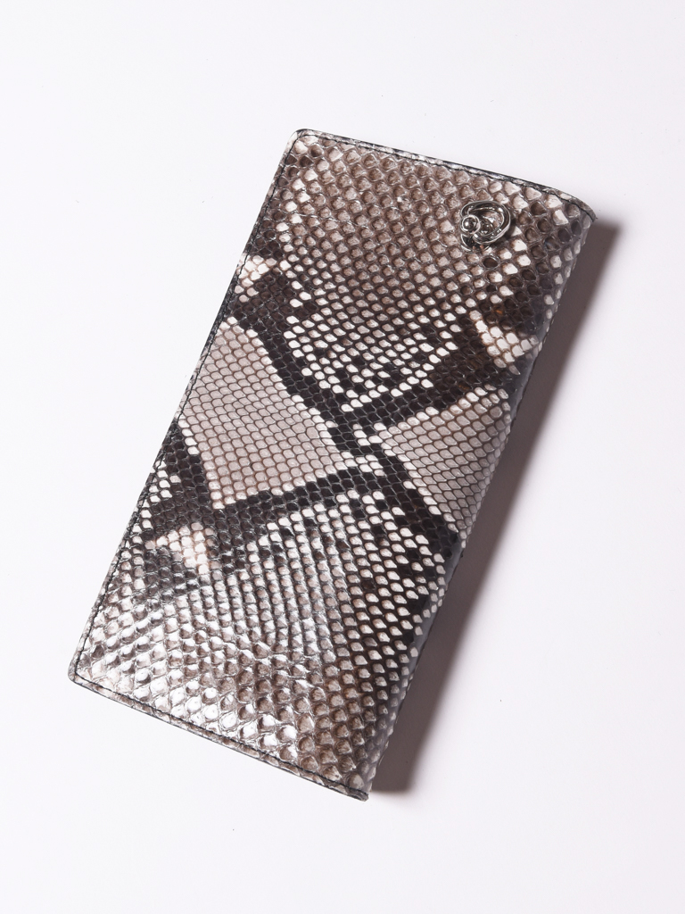 CALEE  「PYTHON LEATHER LONG WALLET 」 パイソンレザーロングウォレット
