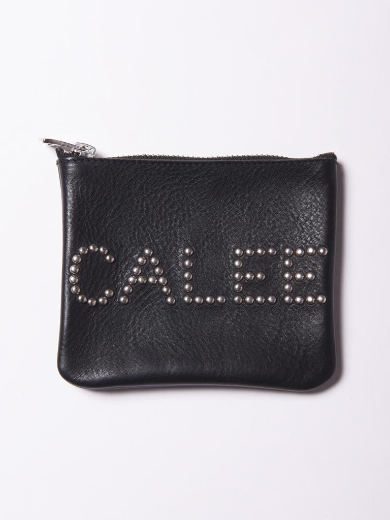 CALEE    「CALEE STUDS LEATHER PURSE」  レザーパース