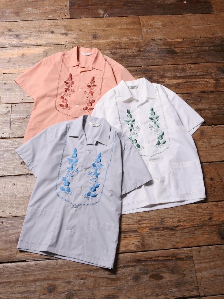 CALEE  「 S/S BROAD CUBA SHIRT 」    オープンカラーキューバシャツ