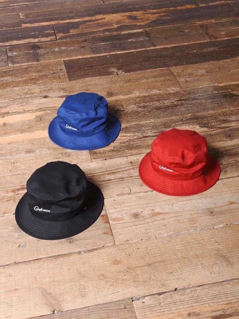 CALEE  「 TWILL BUCKET HAT 」 ツイル バケットハット