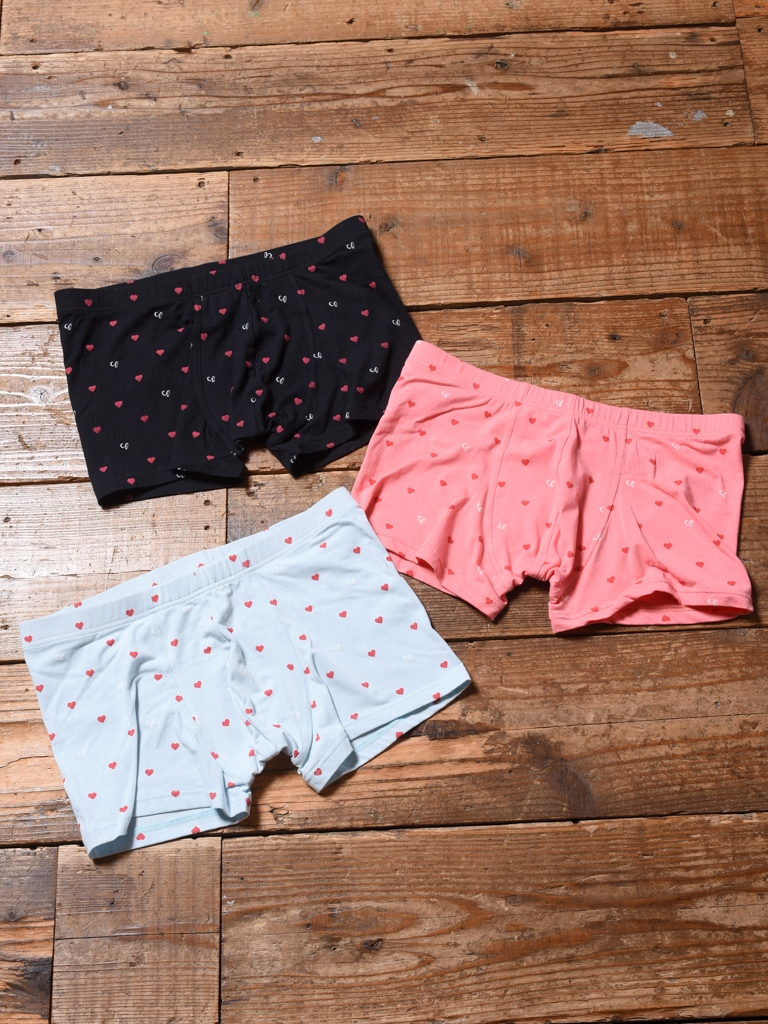 【Limited Item !!】  CALEE  「ALLOVER HEART PATTERN PRINT UNDERWEAR PANTS」    アンダーウェアパンツ