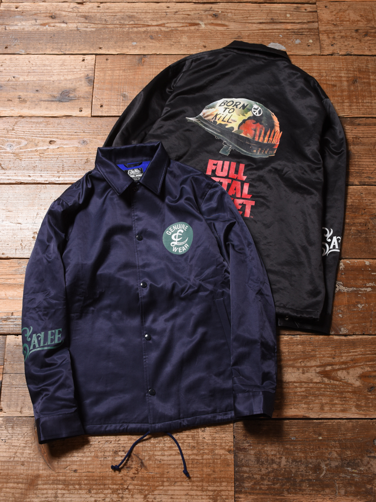 【NEW YEAR ITEM !!】 CALEE × FULLMETAL JACKET  「COACH JACKET」   コーチジャケット