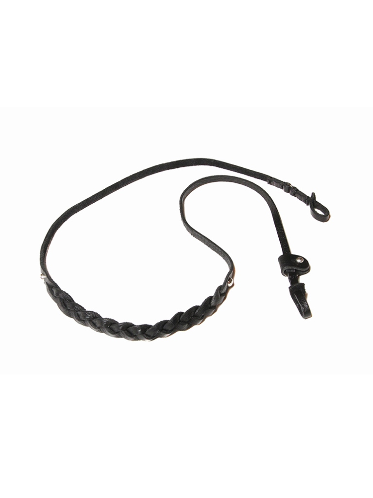 【Limited Item !!】  CALEE  「LEATHER GLASS CORD」  レザーグラスコード