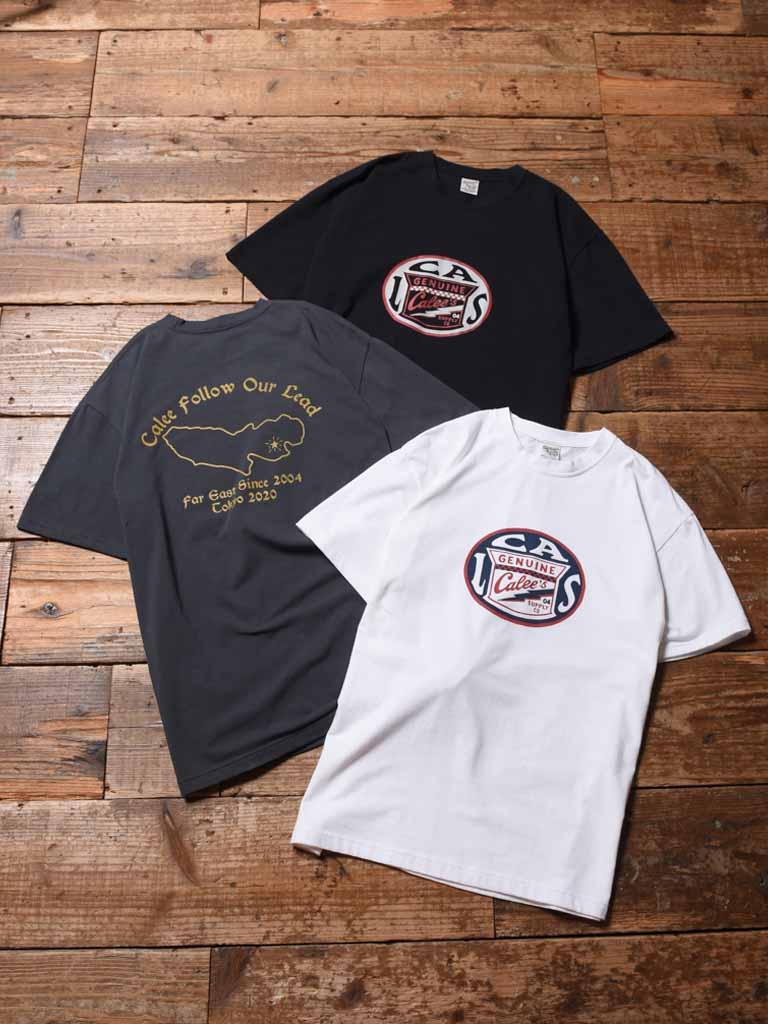 CALEE  「CALS CIRCLE LOGO T-SHIRT 」    プリントティーシャツ