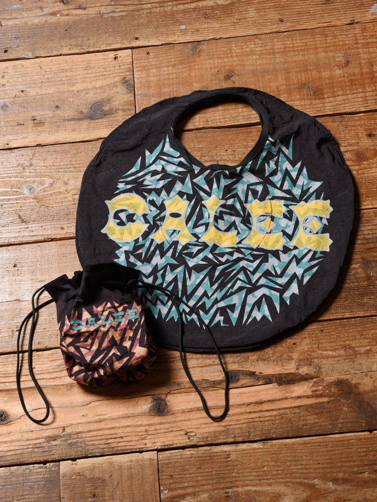 CALEE×RairBag PROJECT  「UPCYCLE TOTE BAG & PURSE」 トートバッグ & 巾着バッグ