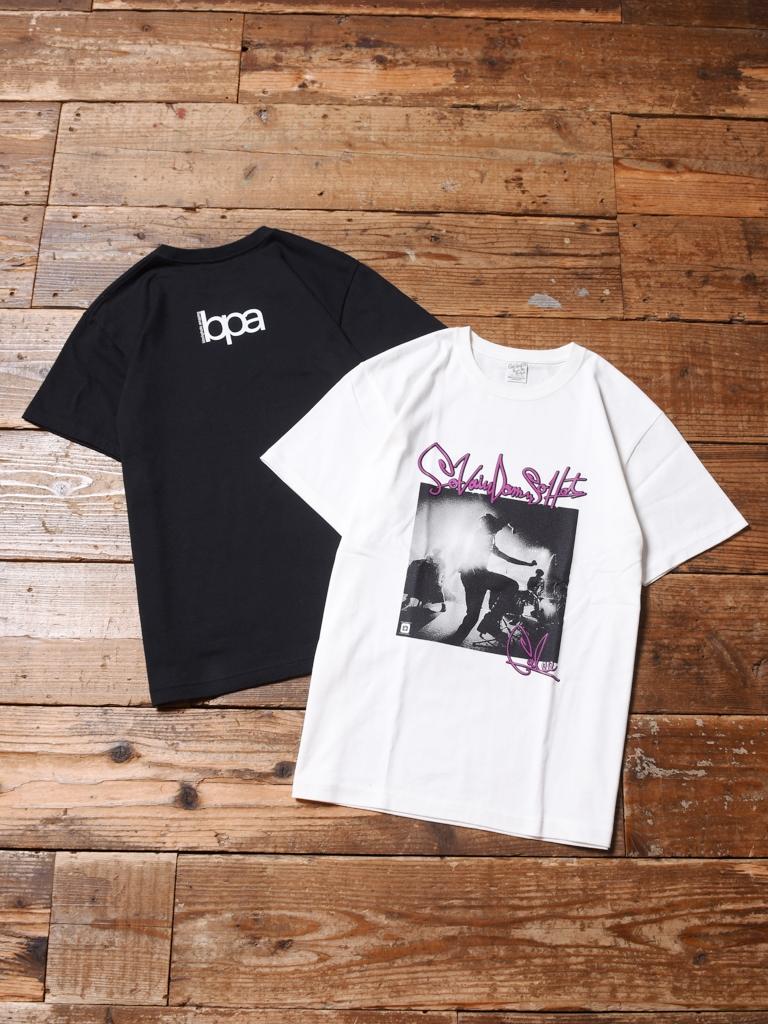 CALEE × BPA 「JANE`S T-SHIRT 」    プリントティーシャツ