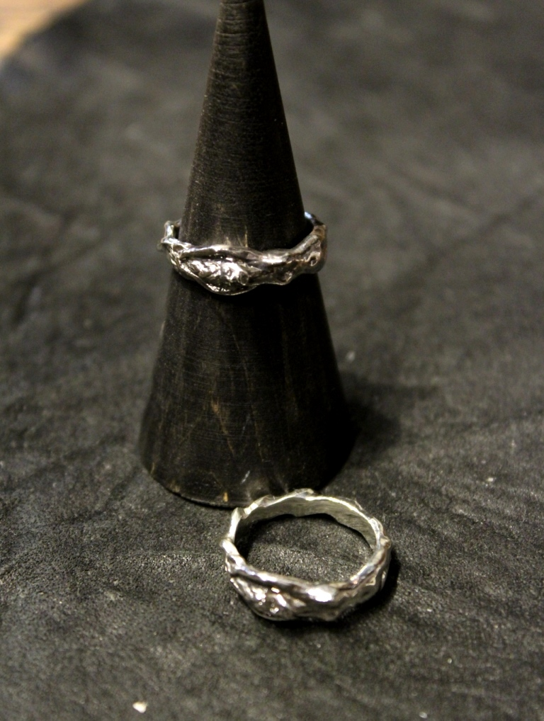 RADIALL  「CHROME LADY - PINKY RING」 SILVER 925製 ピンキーリング