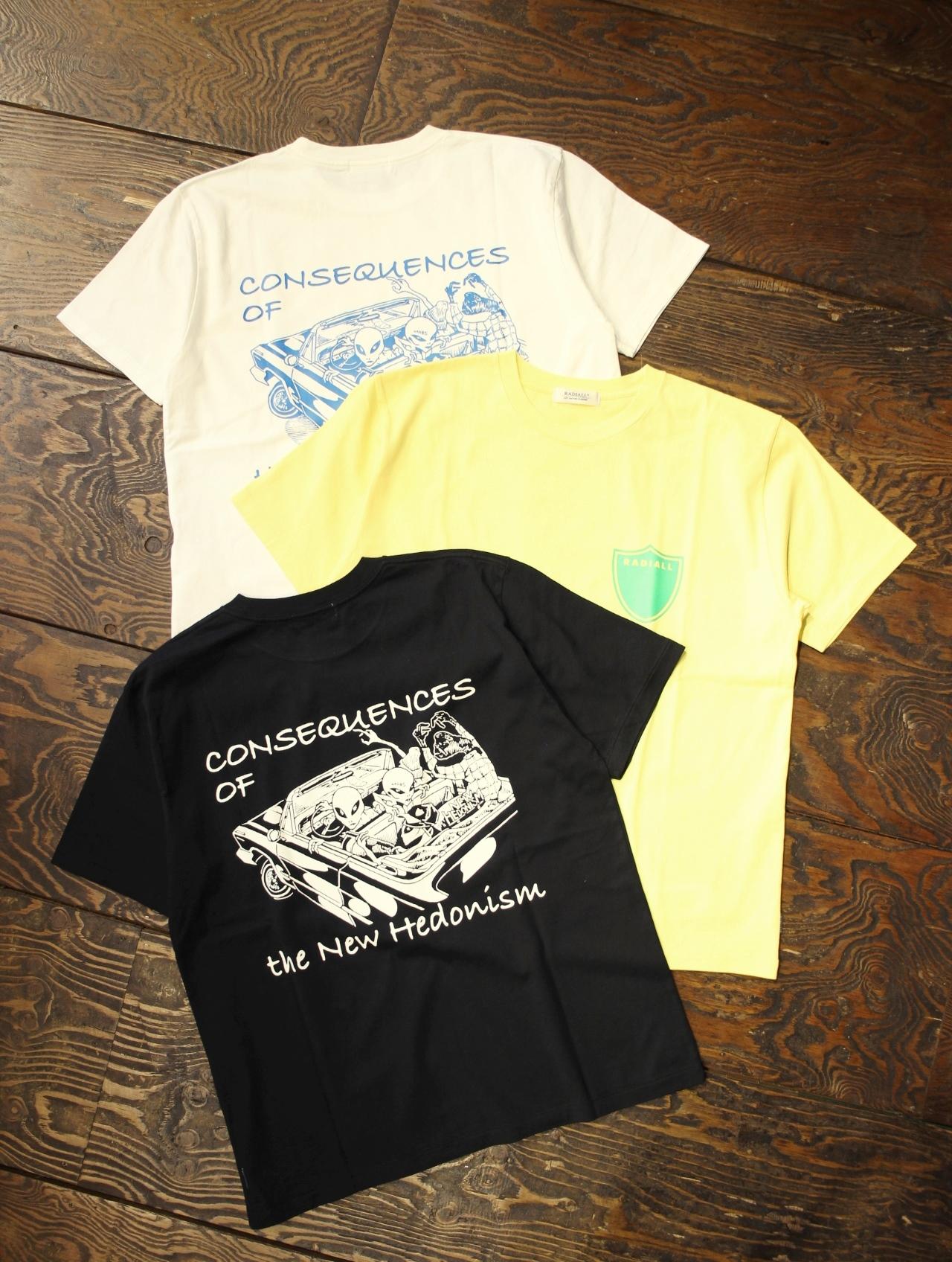 RADIALL    「VATO - CREW NECK T-SHIRT S/S」 プリントティーシャツ