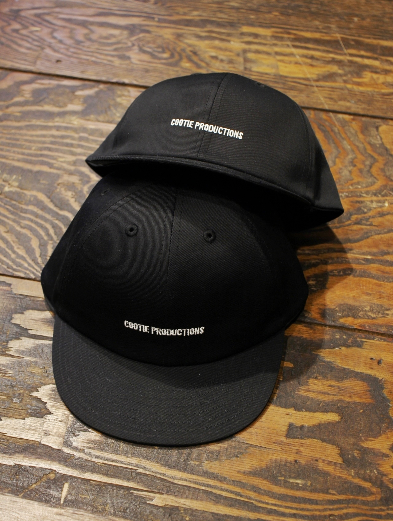 COOTIE  「Twill 6 Panel Cap 」 KID'S ツイルキャップ