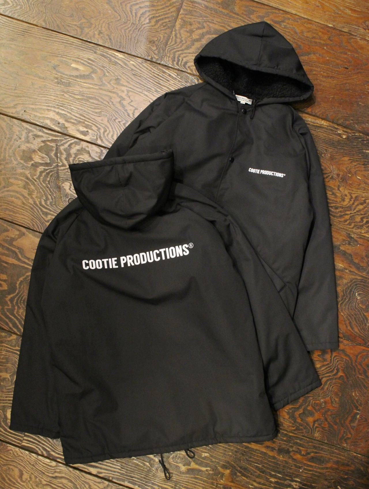 COOTIE  「Bench Jacket (COOTIE LOGO) 」 ベンチジャケット