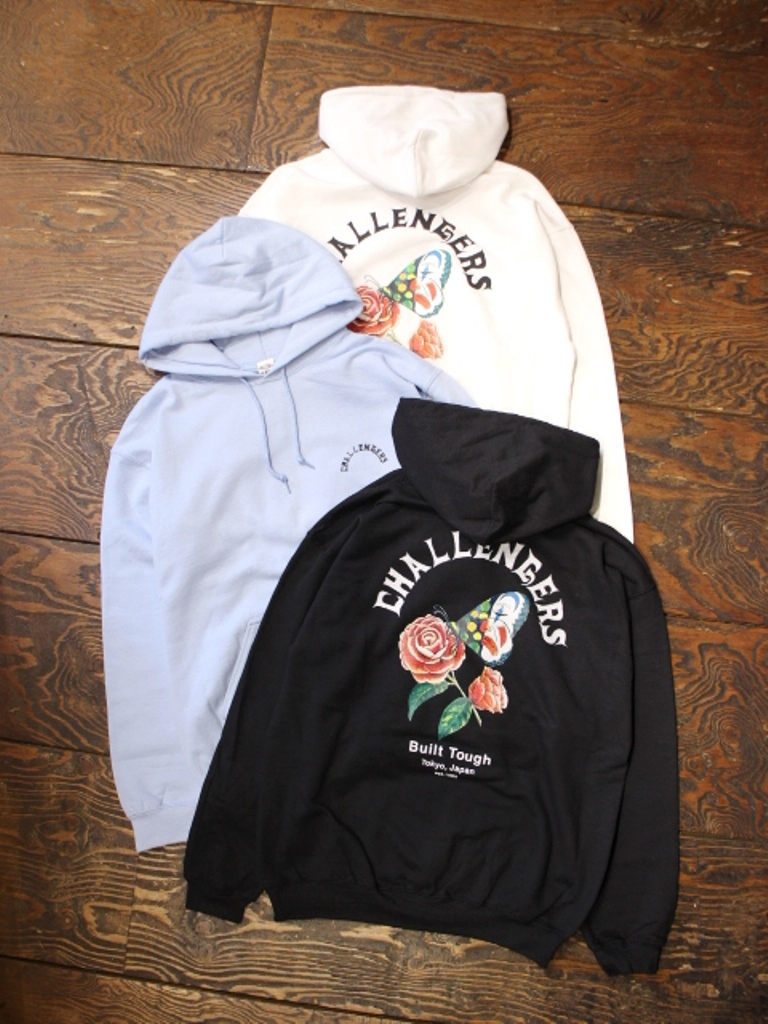 CHALLENGER   「CHALLENGERS BUTTERFLY HOODIE」 プルオーバーパーカー
