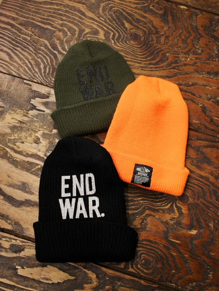 CHALLENGER   「END WAR KNIT CAP」 ニットキャップ