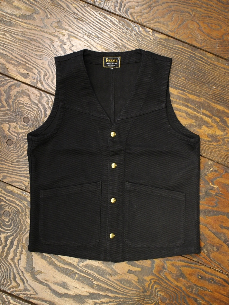 CUT RATE  「PIQUE WORK VEST」 ワークベスト