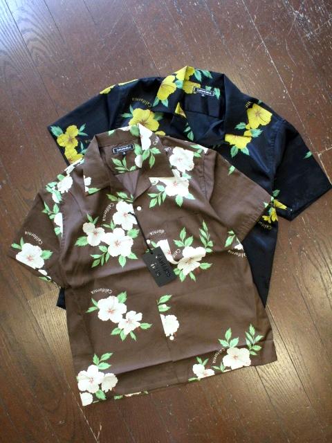 CAPTAINS HELM  「CALIFORNIA ALOHA S/S SHIRTS」  レーヨンオープンカラーアロハシャツ