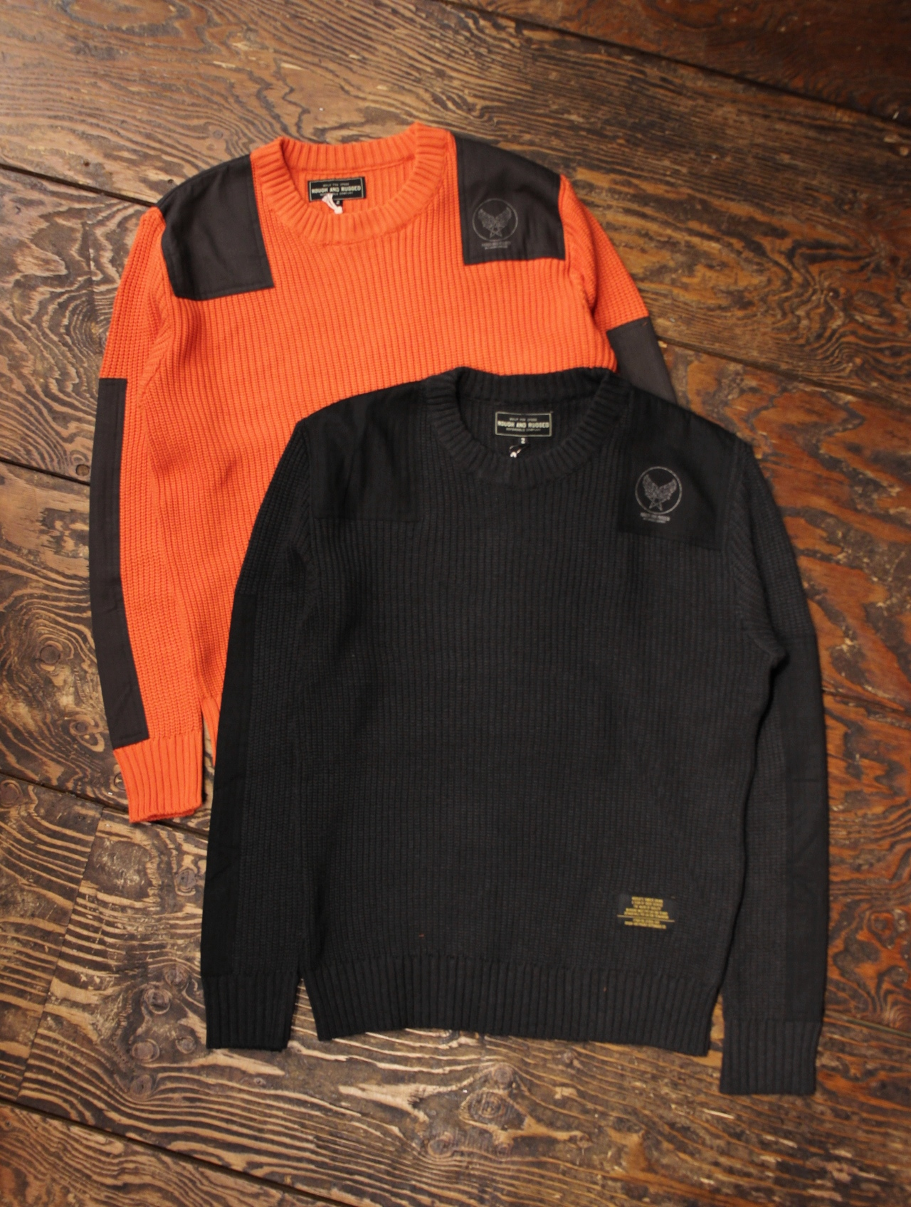 ROUGH AND RUGGED   「COMMAND KNIT」  ニットセーター