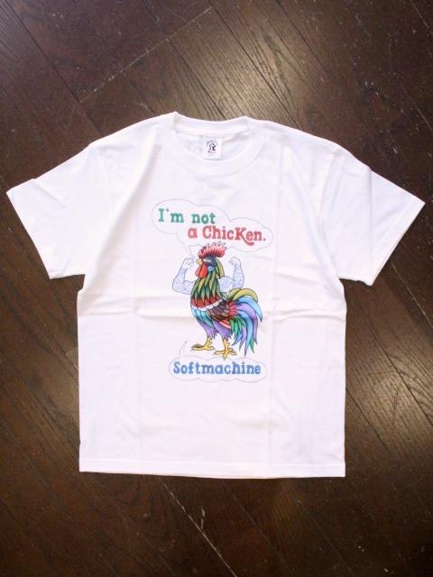 SOFTMACHINE  「HARLAND-T」 プリントティーシャツ