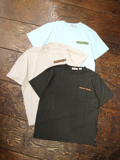RADIALL    「FLAMES - CREW NECK POCKET T-SHIRT S/S」 ポケットティーシャツ