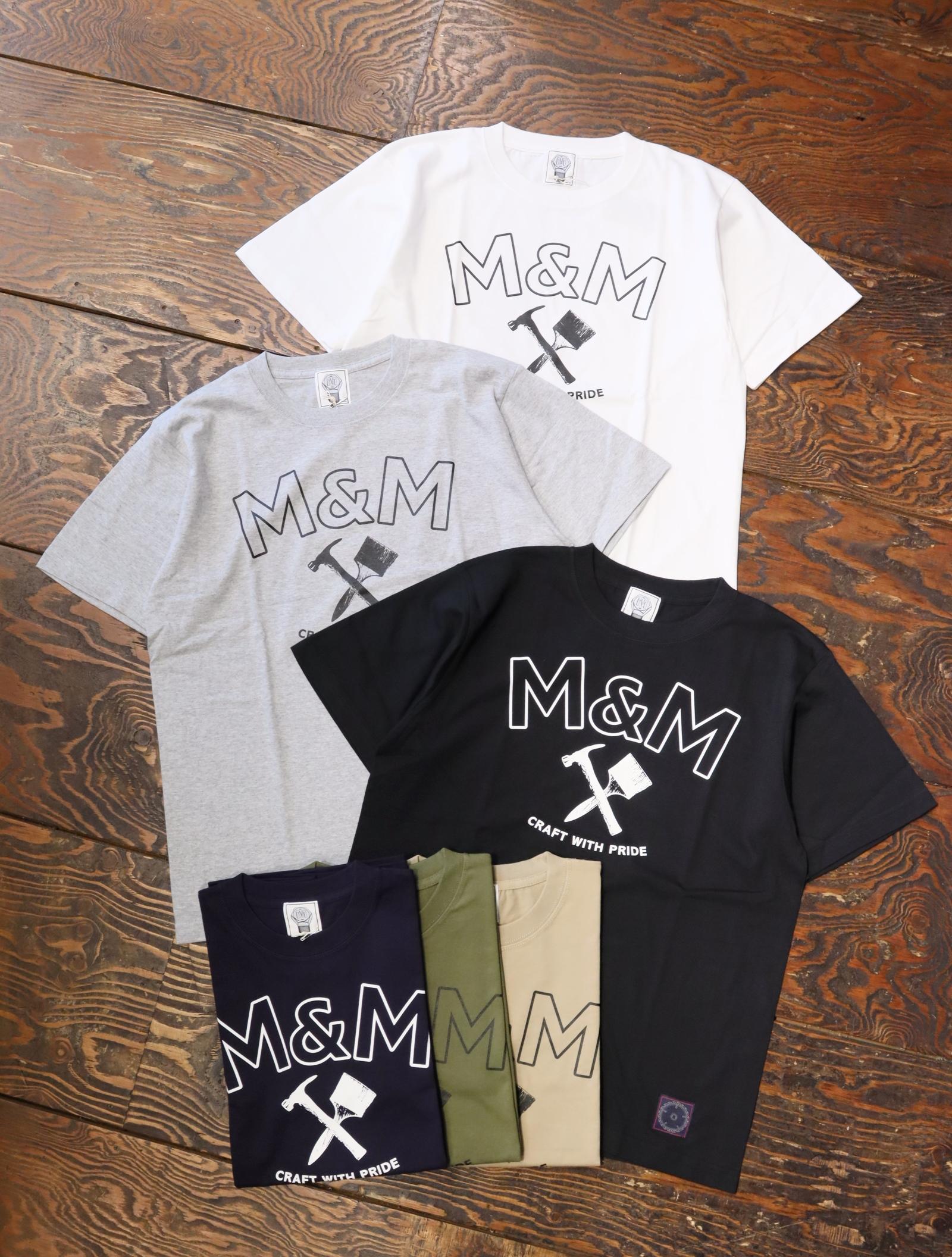 【 6月8日発売!】 M&M CUSTOM PERFORMANCE  「 PRINT S/S T-SHIRT 」 プリントティーシャツ