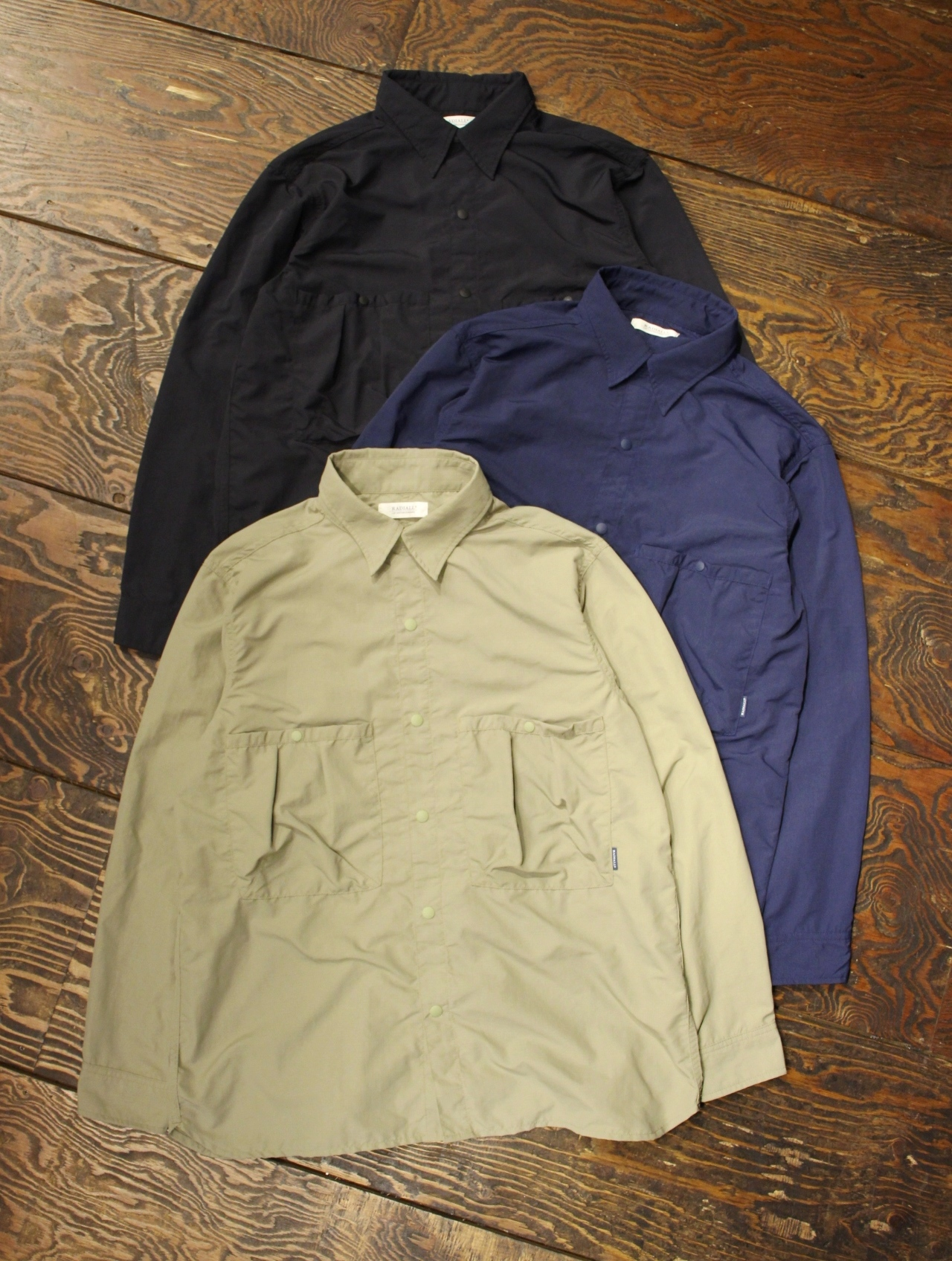 RADIALL  「YOSEMITE - REGULAR COLLARED SHIRT L/S」 レギュラーカラーシャツ