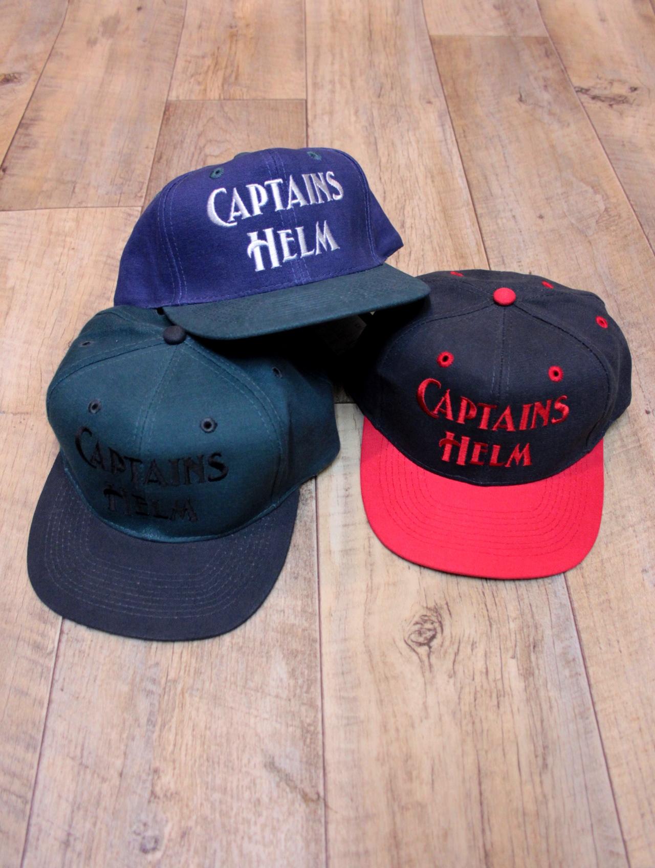 【NEW YEAR LIMITED ITEM !! 】 CAPTAINS HELM  「#LOGO 2TONE Baseball Cap」 ベースボールキャップ