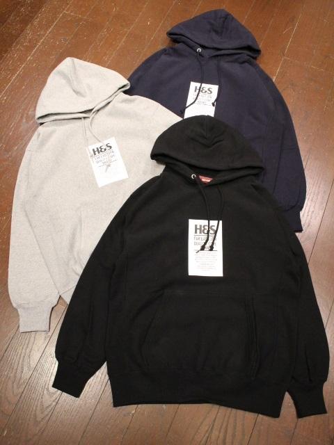 HIDEANDSEEK 「H&S Tag Hooded Sweat Shirt」 プルオーバーパーカー