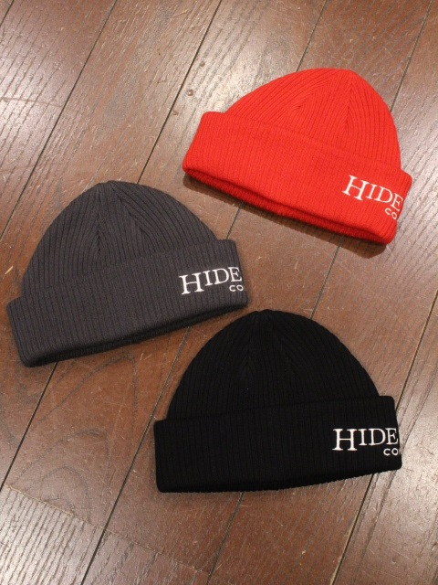 HIDEANDSEEK 「THE H&S COMPANY Knit CAP」 ニットキャップ