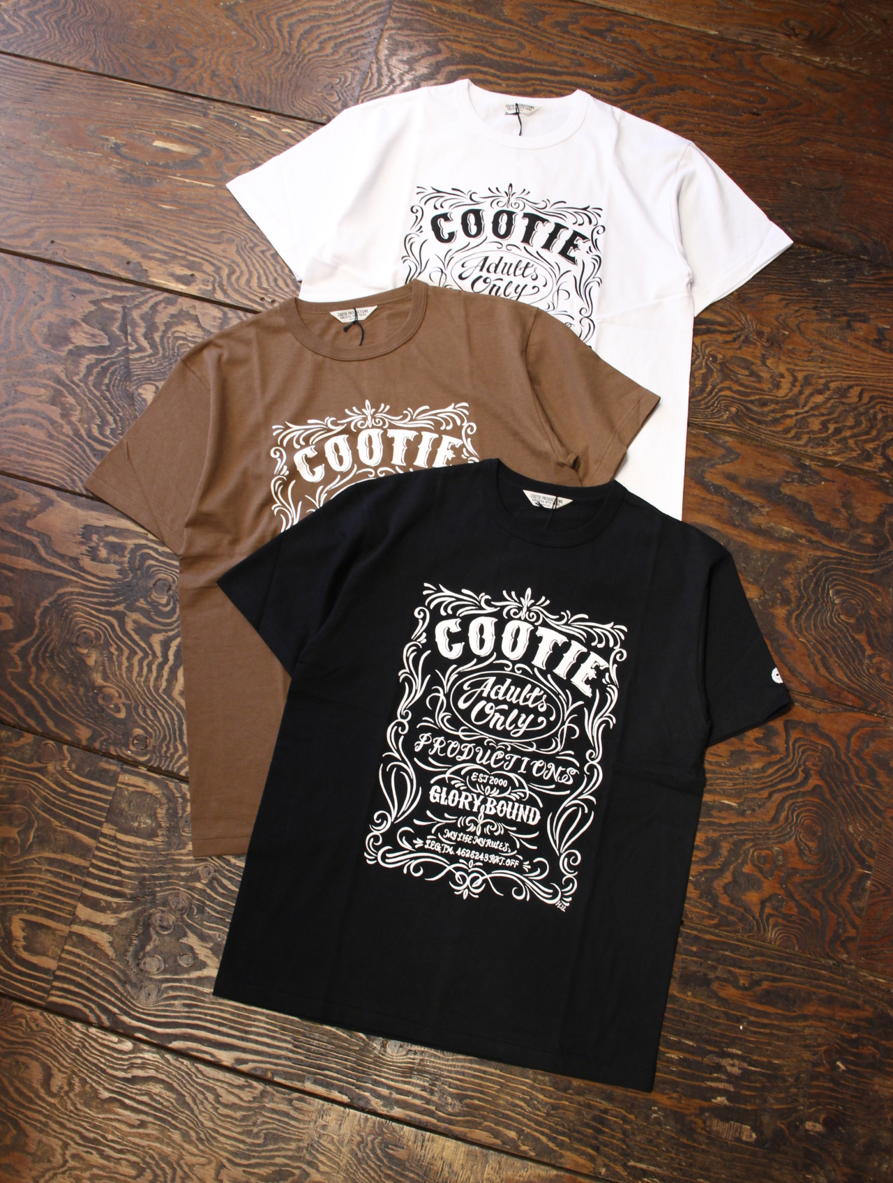 COOTIE × MAGICAL DESIGN 「Print S/S Tee (ORNAMENT)」 プリントティーシャツ
