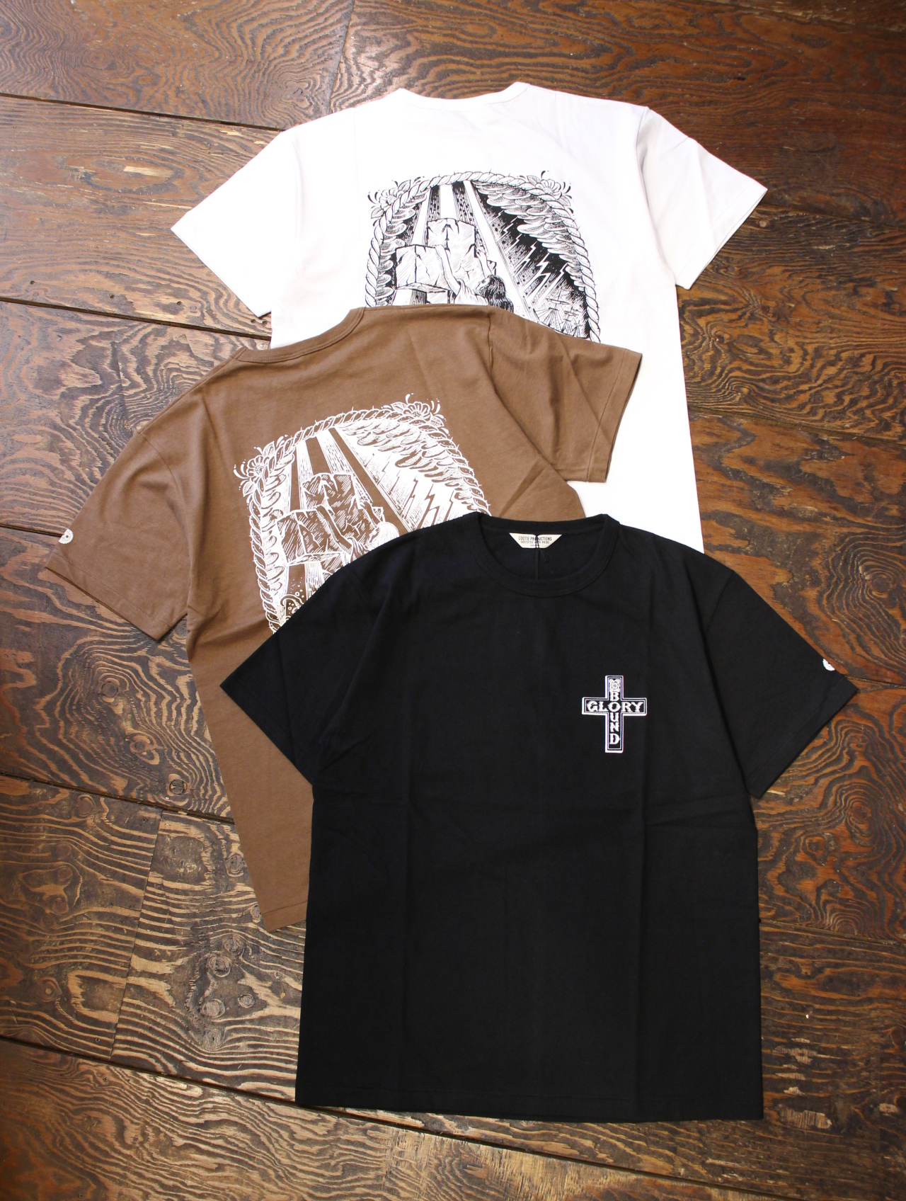 COOTIE × MAGICAL DESIGN 「Print S/S Tee (ROCK OF AGES)」 プリントティーシャツ