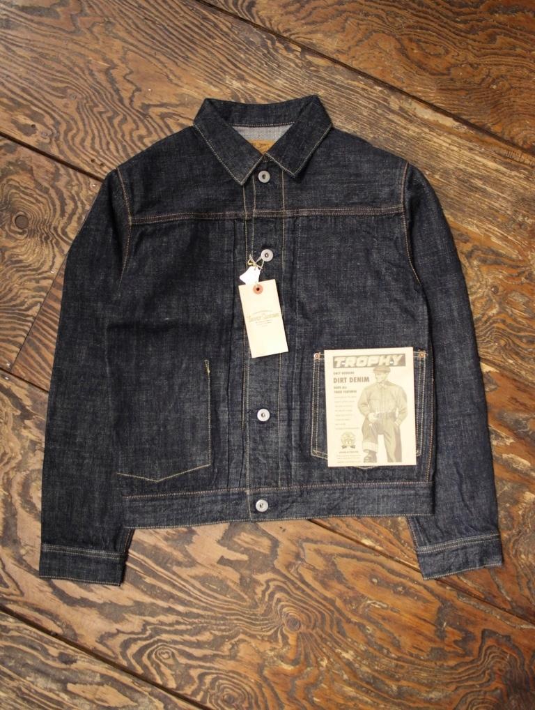 TROPHY CLOTHING  「2605 Dirt Denim Jacket」  デニムジャケット