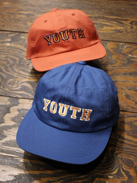 ROUGH AND RUGGED  「DESIGN CAP/YOUTH 」 6パネルキャップ